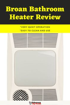 Broan Directionally-Adjustable Bathroom Heater Review.    The Broan Heater has ample features that can heat up your bathroom in no time. Let's learn more about it.    #AdvanceMyHouse #BathroomHeater #BestBathroomHeater #BathroomHeaterReviews #BroanBathroomHeater Bathroom Vanity Cabinets, Bathroom Wall, Modern Bathroom, Best Space Heater, Diy Heater, Bathroom Heater, Kitchen Fan, Bathroom Exhaust Fan