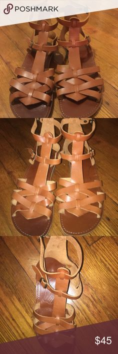 Handmade leather sandals Leather sandals from Greece! One of a kind Shoes Sandals