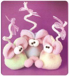 Souvenirs ratoncitos de tela