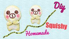 SQUISHY FATTI IN CASA! iBloom Bread Doll Squishy! Tutorial ✿  Guarda il video qui: https://youtu.be/OnoxLwzxzoI