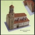 Church of Nuestra Señora de la Asunción (Tobarra) Free Building Paper Model Download