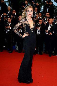 Festival Internacional de Cine de Cannes 2013 alfombra roja red carpet photocall - Cara Delevingne