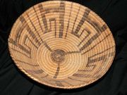 Wonderful Early Native American Pima Basket! Pre- 1920's