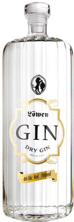 Gin von Löwen Gin in 0,7l mit 40% Vol. Alc.