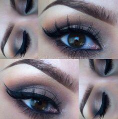 makeup for my big brown eyes!
