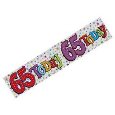 """Silver Today"""" birthday banner with stars. Todays Birthday, Decoration Party, Party Banners, Silver Stars, Christening, Party Supplies, Size 2, Birthdays, Anniversary"""