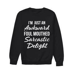 Humor Mom Funny Sweatshirts, Funny Shirts, Cool T Shirts, Awkward, T Shirts For Women, Humor, Tank Tops, Long Sleeve, Sleeves