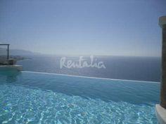 Apartamento con piscina privada - Nerja (Málaga - Costa del Sol)  http://es.rentalia.com/93832