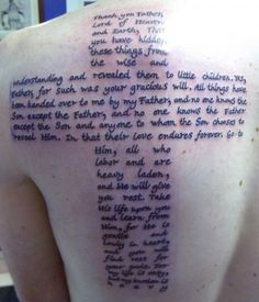 26 Blessed Bible Scripture Tattoos For 2013 - CreativeFan Mädchen Tattoo, Scripture Tattoos, Bible Verse Tattoos, Hand Tattoo, Tattoo Hals, Get A Tattoo, Tattoo Quotes, Small Cross Tattoos, Cross Tattoo For Men