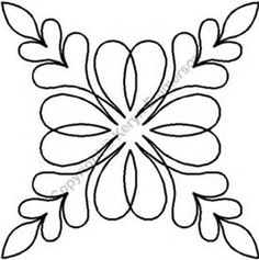 Continuous Line Quilting Stencils - Bing images