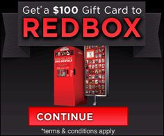 Free 100$ Redbox Gift Card only for US members !