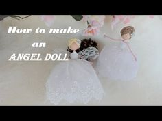 How To Make An Angel Doll   DIY Angel Doll   Búp Bê Thiên Thần   Huong Harmon - YouTube Christmas Angel Ornaments, Christmas Fairy, Christmas Sewing, Christmas Things, Diy Angel Dolls, Fairy Dolls, Diy Doll, Diy Angels, Fairy Tree