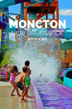 A guide to the top things to do in Moncton, NB with kids. Visit top Moncton attractions including Magic Mountain water park, Shediac, Parlee Beach, Magnetic Hill Zoo and more ! Summer Travel, Travel With Kids, Family Travel, East Coast Travel, East Coast Road Trip, Costa Rica, Moncton Nb, Bas Saint Laurent, New Brunswick Canada
