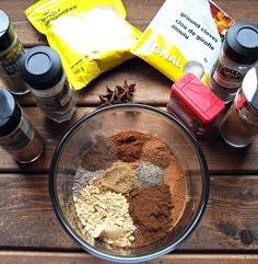 Learn to make this his homemade Gingerbread Spice Mix! It saves you time during Christmas baking and also makes a great homemade gift idea! Vegan Gingerbread, Glass Spice Jars, Spiced Coffee, Spice Mixes, Christmas Baking, Spice Things Up, Yummy Treats, Baking Recipes, Meal Planning