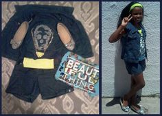 #BGirlSparkle bought three items with R250. The challenge was #lookinggoodforless and it's not hard at Ackermans.