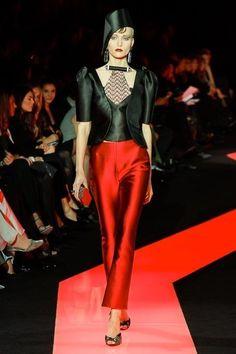 Armani Privé Spring 2013 Couture Fashion Show - Katya Riabinkina (Elite)