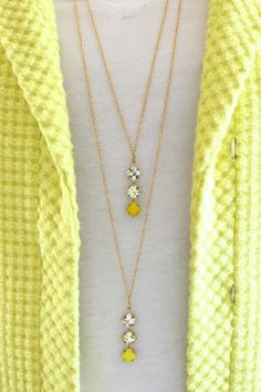 20 Gorgeous DIY Statement Necklace Ideas. I like the simplicity, but with a different color.