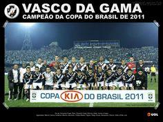 Vasco da Gama Campeão da Copa do Brasil 2011