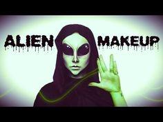 Alien   Halloween Tutorial ♡ - YouTube