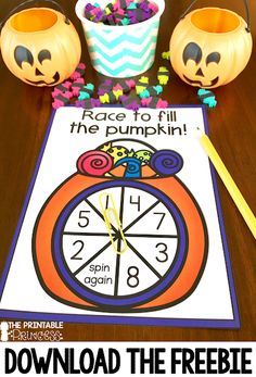 You and your students are going to love these Halloween for Kindergarten FREE downloads! Use these FREEBIES in your classroom OR homeschool for great fun all October long! Practice math and literacy skills. Your students will practice counting and letter sounds or beginning sounds. These make great math centers or literacy centers. Click through to grab yours today! {preK, Kinder fun, engaged learning} #halloween #kindergarten #fall #printableprincess