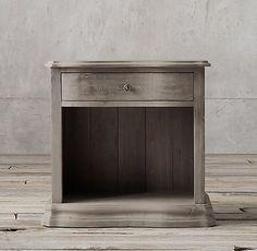 Salvaged Pine Serpentine Case Collection - Salvaged Grey | RH