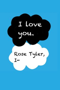 """""""I love you. Rose Tyler, I-"""" This gets me every time. #doctor_who #rose_tyler #doomsday"""