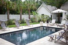 piscinas casa veraneo | El pabellón de verano se encuentra a un costado de la vivienda ...