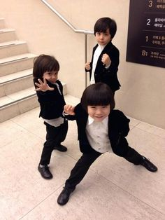 the Moon Brothers ♡ #Kdrama . so cute !!!