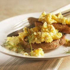 Perfect scrambled eggs recipe. Find more recipes here or on RedOnline.co.uk.