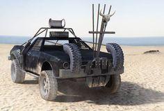 """""""Mad Max"""", la imágen creada por Cristina Grados ha sido la más votada con 277 likes. Cristina es alumna de la Carrera Especializada de VFX."""