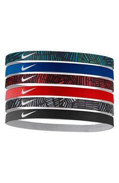 Nike Sport Headbands (6-Pack) available at  Nordstrom Nike Headbands 0f44f4b56d0