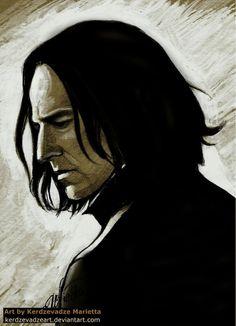 Severus Snape by KerdzevadzeART