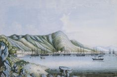 View Of Hong Kong. Chinese School by Christie's Images - art print from King & McGaw