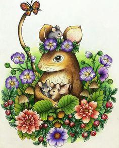 #blomstermandala #mariatrolle #coloringbook #coloring #prismacolor #adultcoloringbook #secret_garden #coloring_secrets #coloringmasterpiece
