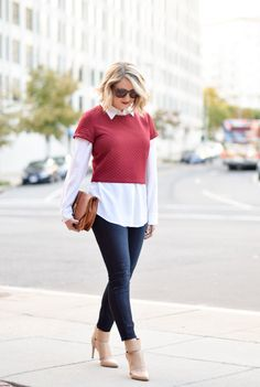 Love this outfit from A Lacey Perspective...via ClosetSpace