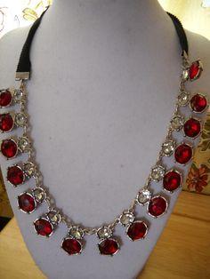 Dscn9799  Fancy collar necklace from Avon