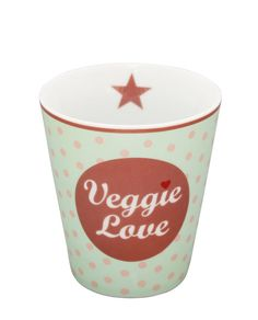 Happy Becher Veggie Love von Krasilnikoff ♥