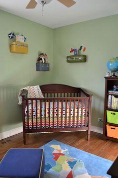 Travel themed nursery!