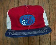 Vintage IOOF Mesh Trucker Hat Snapback Hat Baseball Cap K Brand USA Made | eBay
