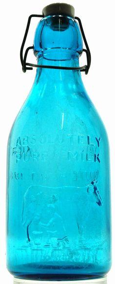 Vintage Thatcher's Dairy Milk One Quart Bottle by LaDolfina, $40.00