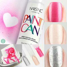 paint can spray nailpolish - nailsinc