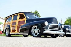 Chevrolet Woody station wagon...Brought to you by House of Insurance Eugene Oregon