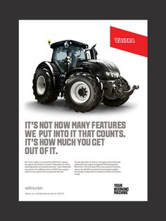 Valtra tractors visual identity - The Kitchen Sthlm