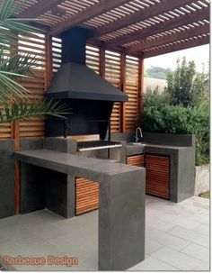 Barbecue Design 2020 - How long do you let charcoal burn before cooking barbecuedesign homedesign homeideas homedecor # Kitchen Arrangement, Outdoor Kitchen Design, House Design, Outdoor Kitchen, Patio Design, Rustic Kitchen Design, Build Outdoor Kitchen, Outdoor Design, Kitchen Design Diy