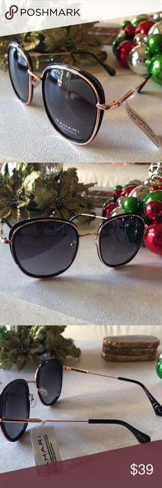 Tahari Sunglasses ❤️❤️❤️. NWT This is Tahari at its best. These are Original Rose Gold Rimmed Tahari Sunglasses are the classiest ever. Tahari Accessories Sunglasses