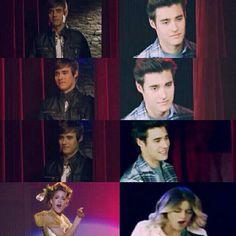 Cause of you I feel heaven surround us, I love you I love you. Violetta And Leon, Violetta Live, Guy Best Friend, Best Friends Forever, Disney Channel, Gossip Girl, Stranger Things, Movie Stars, Boy Or Girl