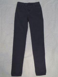 J BRAND coal GREY MARIA skinny high rise 23110 women's jeans SIZE 28