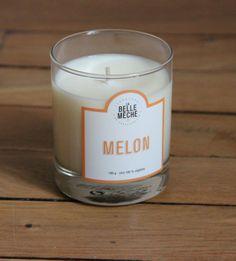 #labellemeche http://www.labellemeche.com/bougies-parfumees/28-bougie-parfumee-melon.html