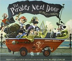 The Jolley-Rogers - a pirate family, are moving to Dull-on-Sea, a quiet seaside town. Stopping to fix up their ship, this unusual family get the whole neighbourhood spreading rumours. Defying the grown-ups, Matilda from next door decides to become friends with the youngest pirate son. When the Jolley-Rogers leave, the town discovers they were wrong to assume the worst - the pirate clan have buried treasure in everyone's gardens. Matilda feels sad until she discovers her own treasure.