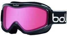 Bolle 20571 Mojo Ski Goggles Shiny Black Frame Vermillon Lens